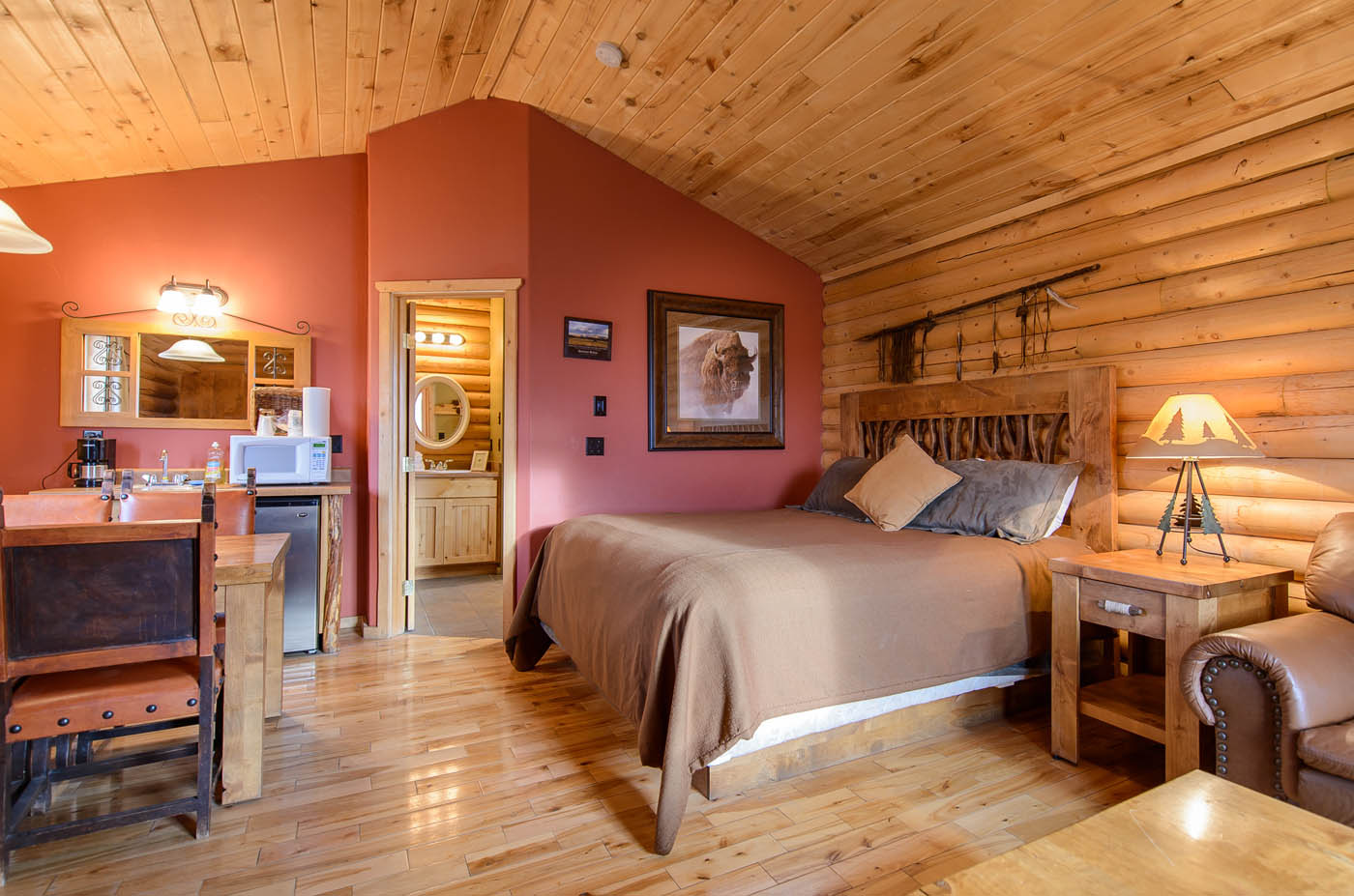 champagne suite | zion mountain ranch